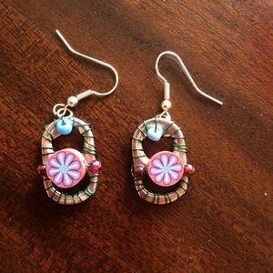 Handmade by Me Soda pop Upcycled Earrings